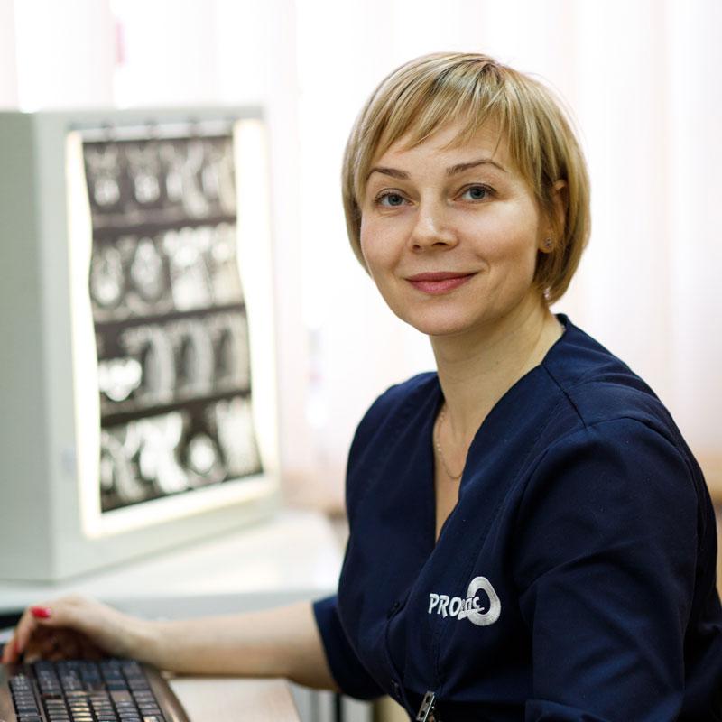 Вуйцик Оксана Євгенівна - лікар-рентгенолог