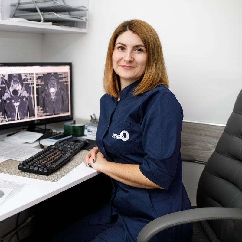 Патицька Юлія Володимирівна - лікар-рентгенолог