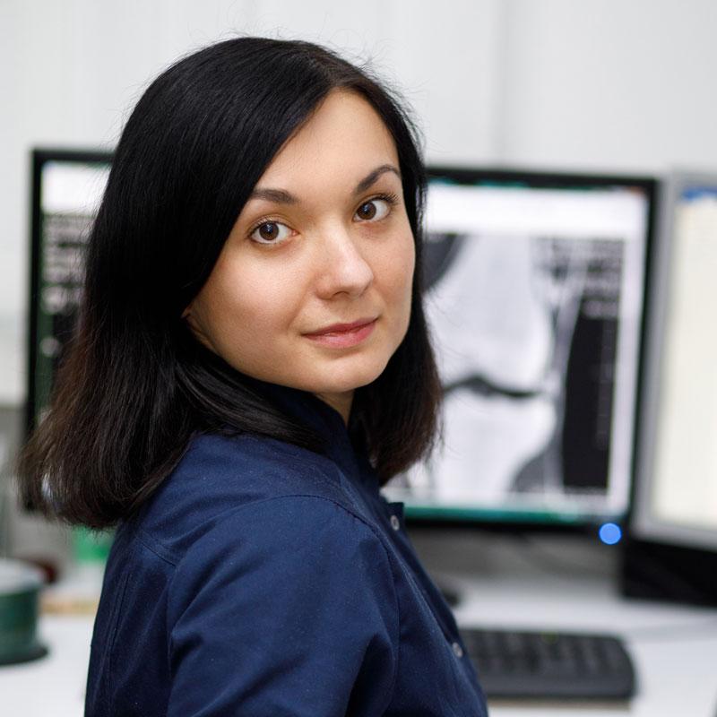 Сямро Ольга Олегівна - лікар-рентгенолог