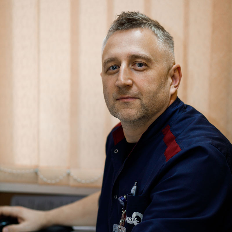 Ліпський Вячеслав Миколайович - лікар-рентгенолог
