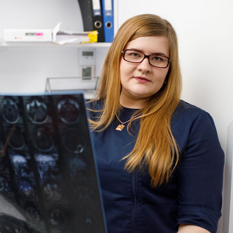 Кутрик Наталія Ігорівна - лікар-рентгенолог