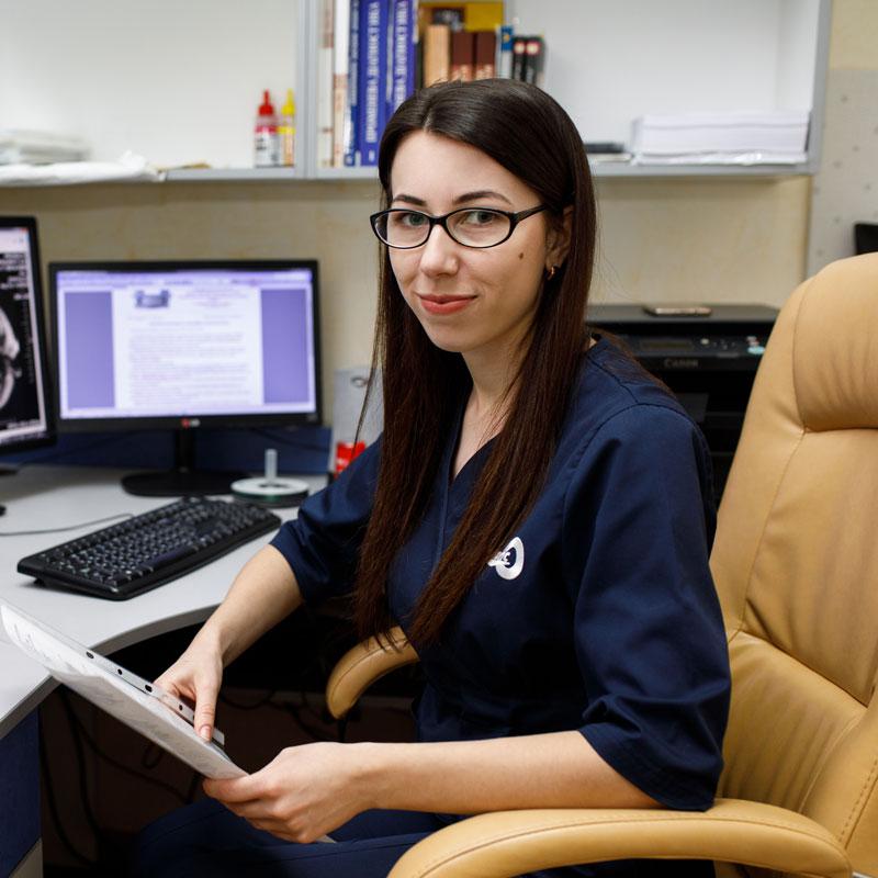 Амбрик Ірина Михайлівна - лікар-рентгенолог